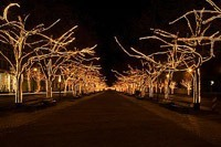 Подключение освещения зданий в Томске