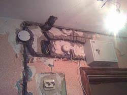 Замена электропроводки в Томске