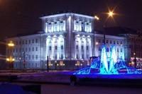 освещение фасадов в Томске